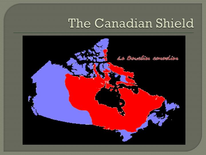 the canadian shield n.