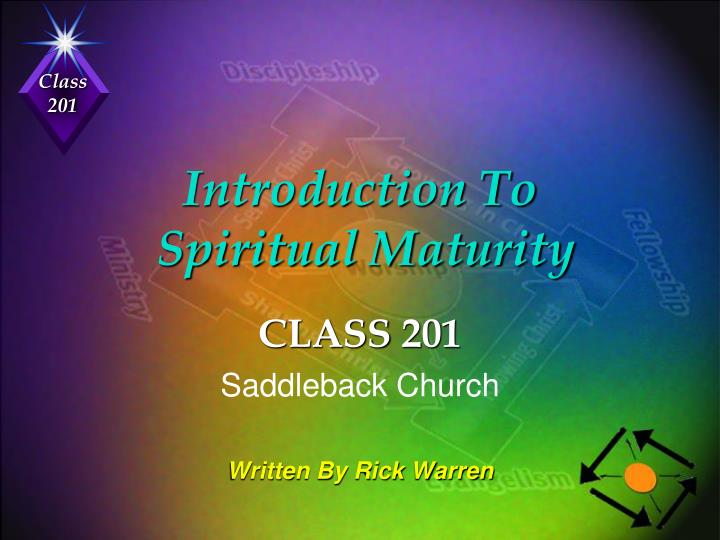introduction to spiritual maturity n.