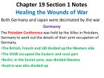 Chapter 19 Section 1 Notes Healing the Wounds of War