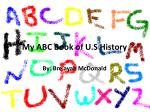 My ABC Book of U.S History