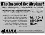 Who Invented the Airplane? Cornell University in the Social Network of Early Aviation