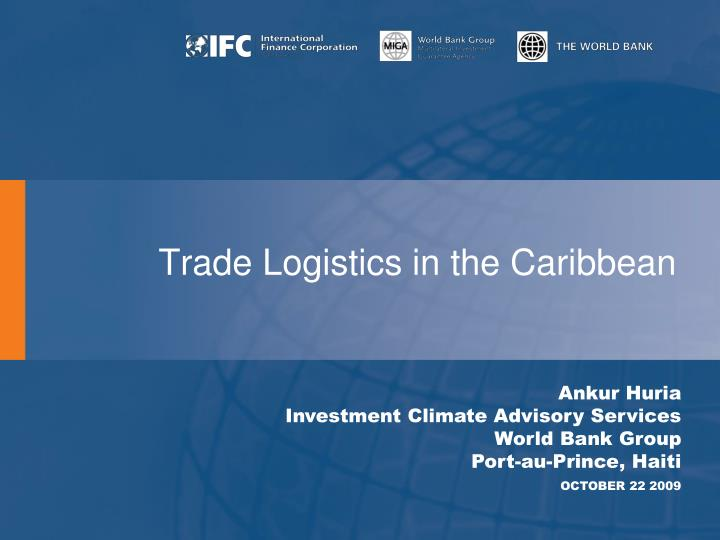 PPT - Trade Logistics in the Caribbean PowerPoint