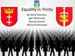 Equality in Tricity