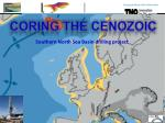 Southern North Sea Basin drilling project