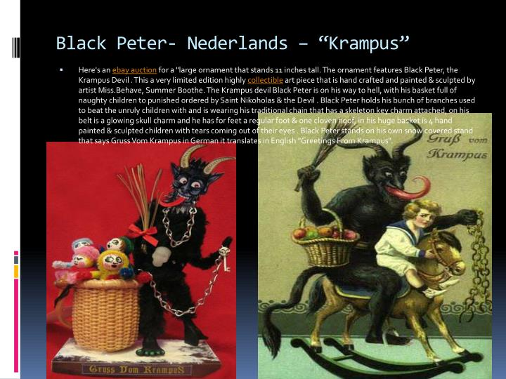 black peter nederlands krampus n.