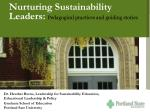 Nurturing Sustainability Leaders:  Pedagogical practices and guiding stories