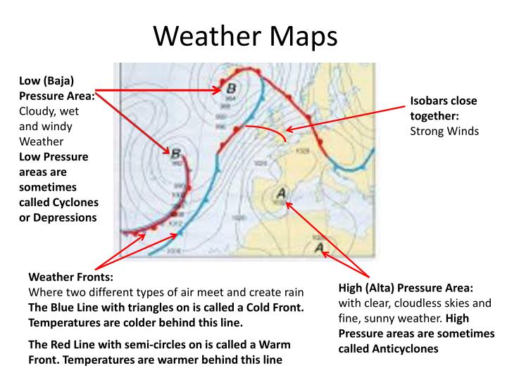 PPT - Weather Maps PowerPoint Presentation - ID:2372114 Different Types Of Maps Powerpoint on