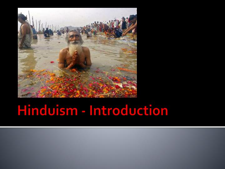 hinduism introduction n.