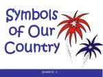 Symbols of Our Country