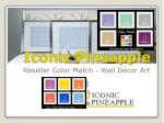 Iconic pineapple offer reseller big fish, traditional prints