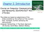 Chapter I: Introduction