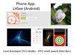 Phone App: LHSee (Android)