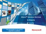 Attune TM  Advisory Services In Airports