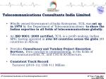 Telecommunications Consultants India Limited