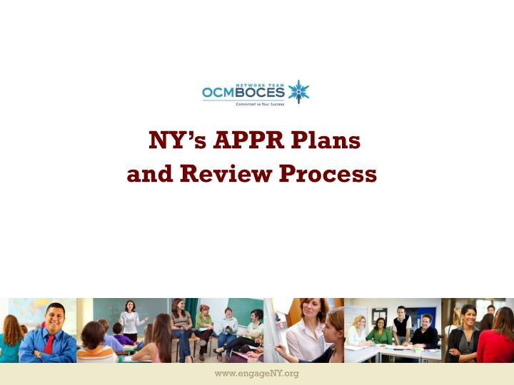 ny s appr plans and review process n.
