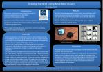 Driving Control using Machine Vision A Final Year Project