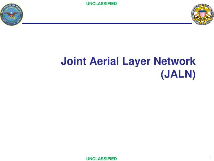 joint aerial layer network jaln n.