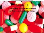 Chapter 12 Controlling Microbial Growth in  the Body: Antimicrobial Drugs
