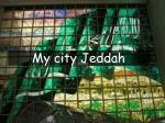 My city  Jeddah