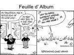 Feuille d' Album
