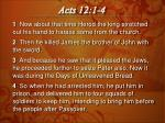 Acts 12:1-4