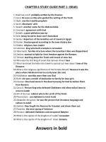 CHAPTER 6 STUDY GUIDE PART 1: ISRAEL Dead sea scroll: probably written by the Essenes
