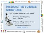 INTERACTIVE SCIENCE SHOWCASE