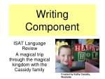 Writing Component