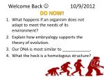 Welcome Back   			10/9/2012 DO NOW!