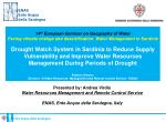 14 th  European Seminar on Geography of Water