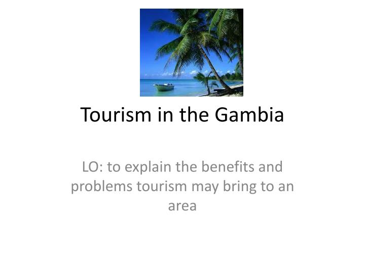 tourism in the gambia n.