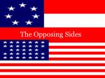 The Opposing Sides