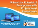 Unleash the Potential of Smartphones with Project-based Assessments