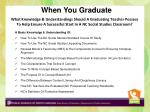 A Basic Knowledge  & Understanding Of: How To Use The NC Social Studies Standard Course Of Study