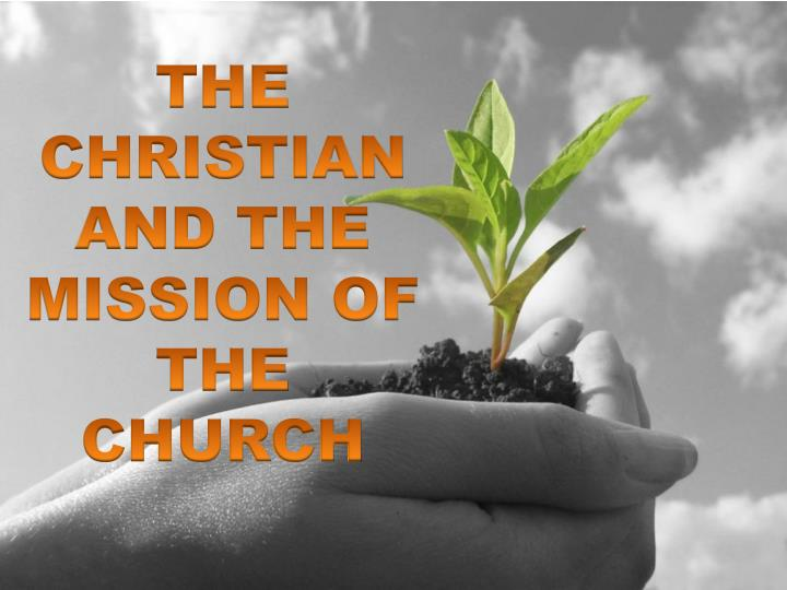 the christian and the mission of the church n.