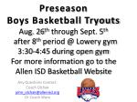 Any Questions Contact: Coach Olchak j ohn_olchak@allenisd Or Coach Ware
