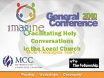 Facilitating Holy Conversations in the Local Church