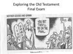 Exploring the Old Testament Final Exam