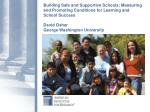 Bottom Line: Key Components of Safe & Successful Schools