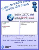 The next international audit is planned for February 2011