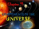 Components of the Universe