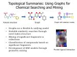 Topological Summaries: Using Graphs for Chemical Searching and Mining