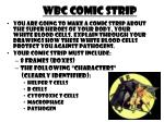 WBC COMIC STRIP