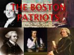 The Boston  Patriots