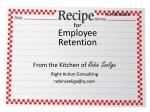 for Employee Retention