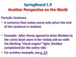 SpringBoard  1.9 Another Perspective on the World