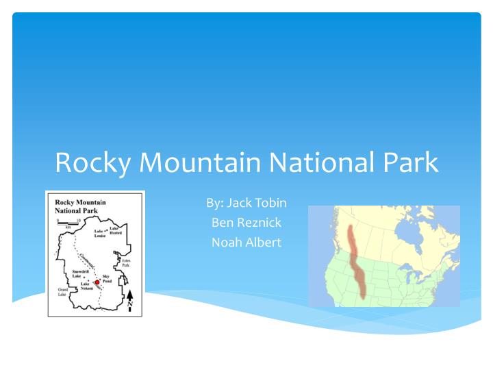 rocky mountain national park n.