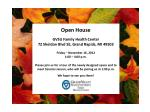 Open House GVSU Family Health Center 72 Sheldon Blvd SE, Grand Rapids, MI 49503