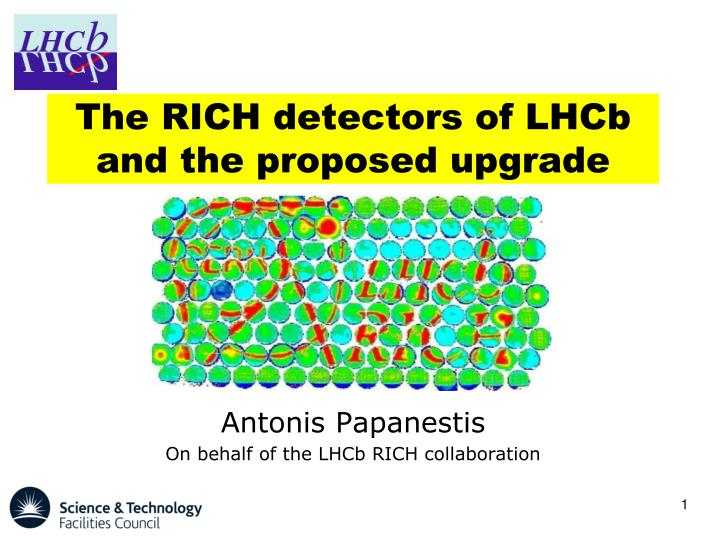 the rich detectors of lhcb and the proposed upgrade n.