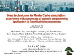 SNA + MC 2010 Joint International Conference on